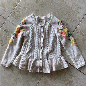 Genuine Kids by Oshkosh girls sweater size 4T